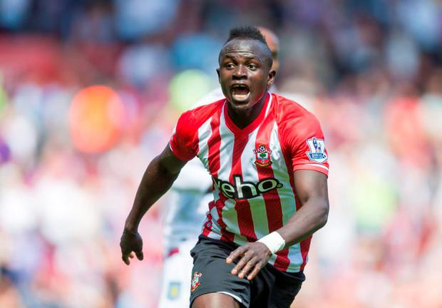 Sadio Mane, who scored 25 goals in 75 appearances for the Saints, is Jurgen Klopp's fourth signing. Picture credit: Chris Ison/PA Wire.