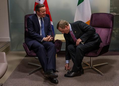 David Cameron's Brexit gamble has left Enda Kenny and the Irish government picking up the pieces. Photo by Dan Kitwood/Getty Images