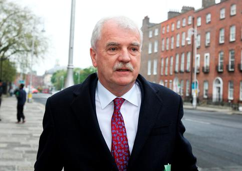 Independent ministers Finian McGrath, pictured, and Shane Ross had insisted that TDs should be allowed to vote with their consciences Picture: Tom Burke