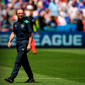 Republic of Ireland manager Martin O'Neill. Picture credit: Stephen McCarthy/Sportsfile