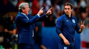 England boss Roy Hodgson and assistant Gary Neville got it wrong in Nice. Picture credit: Dan Mullan/Getty Images