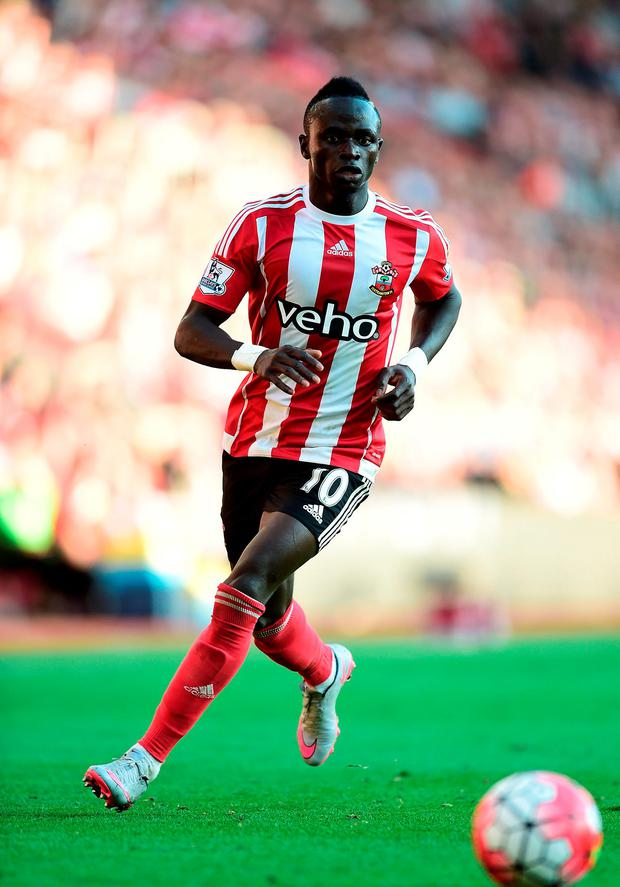 New Liverpool signing Saido Mane. Picture credit: Adam Davy/PA Wire.