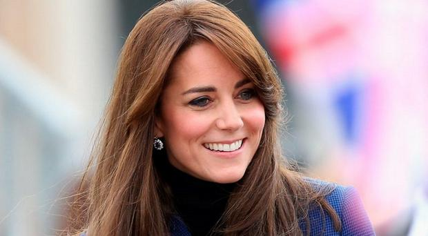 Kate Middleton is famous for her hair