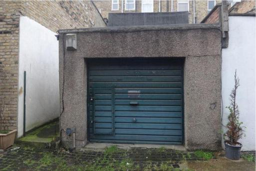 The garage in Stoke Newington has been snapped up shortly after it went on the market Credit: Rightmove