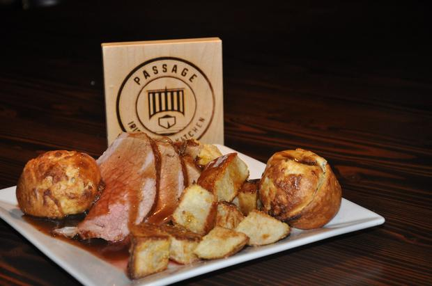 Sunday Roast at Michael Mansfield's in NYC