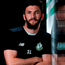 Killian Brennan of Shamrock Rovers poses for a portrait following a press conference ahead of the Europa League Qualifier. Photo: Cody Glenn/Sportsfile