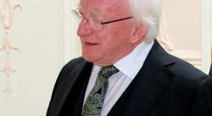 President Michael D Higgins Picture: Tony Gavin