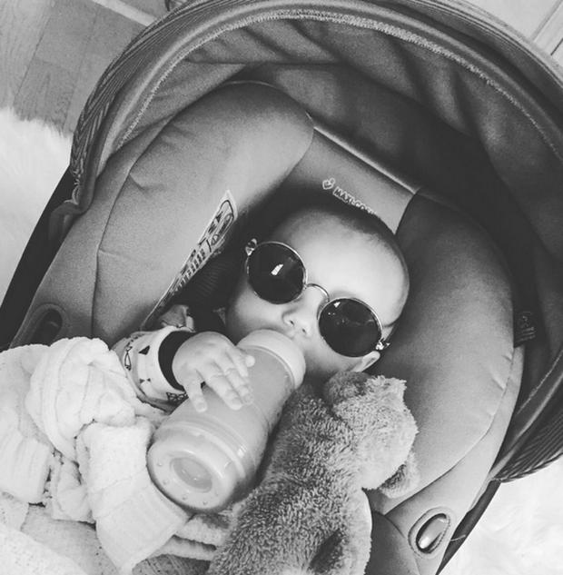 Briana Jungwirth and Louis Tomlinsons's son Freddie Reign