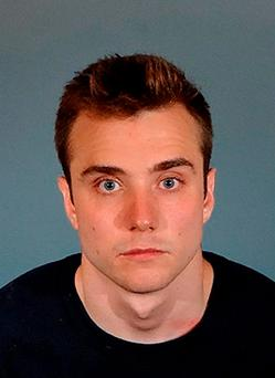 Calum McSwiggan, who has been charged with filing a false police report after he claimed he was assaulted near a gay club in West Hollywood. Los Angeles County Sheriff's Department/PA Wire