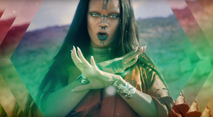 Rihanna in the video for Sledgehammer. Photo: YouTube