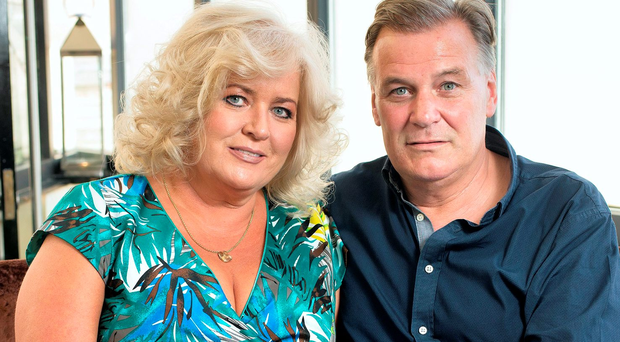 Derry Clarke with his wife Sallyanne Picture: Tony Gavin