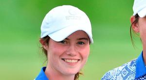 Leona Maguire, 48th in the world amateur rankings, is almost certain make the top 60 that will qualify for Rio. Picture credit: Matt Browne/Sportsfile