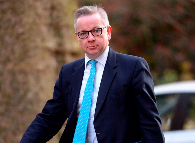 British Lord Chancellor Michael Gove, who is to stand for the Conservative Party leadership Photo: Stefan Rousseau/PA Wire