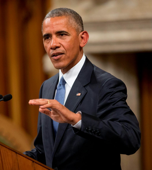 President Barack Obama. Photo: Pablo Martinez Monsivais/AP Photo