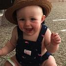 Brooke Hawley-Basso shared this adorable outfit fail of her daughter Olivia