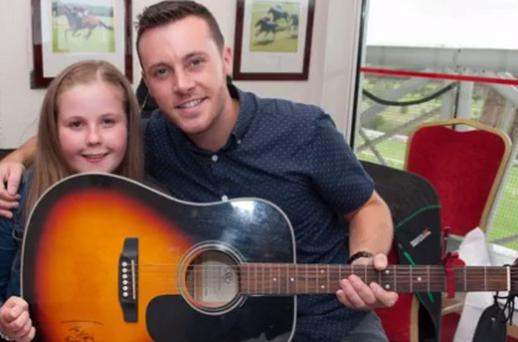 Nathan Carter performed 'Wagon Wheel' with Katie Cronin, who had her dream fulfilled by Make-A-Wish