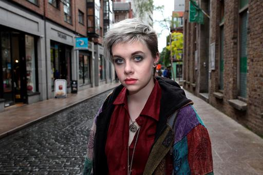 Homophobia: Gay teen Jesse Sleator was attacked in the centre of Dublin. Photo: Martin Maher.