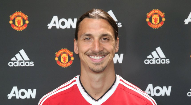 Zlatan Ibrahimovic in his new strip