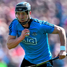 The return of Mark Schutte should boost Dublin's firepower against Cork tonight. Photo: Ramsey Cardy/Sportsfile