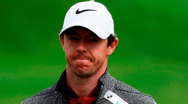 Rory McIlroy: Joint leader. Photo: Getty