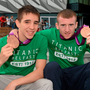 Michael Conlon and Paddy Barnes.