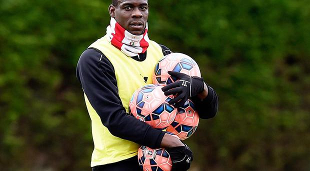 Balotelli has endured two barren years in front of goal. Getty Images