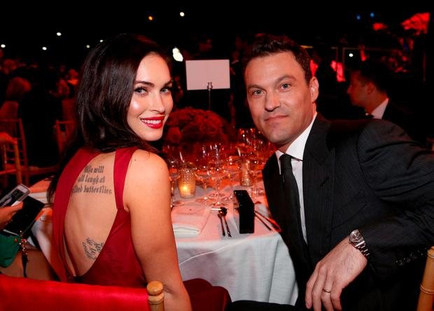 Actors Megan Fox (L) and Brian Austin Green have reportedly cancelled their divorce proceedings