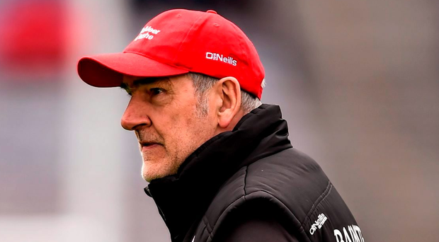 Tyrone manager Mickey Harte Picture: Ramsey Cardy/Sportsfile