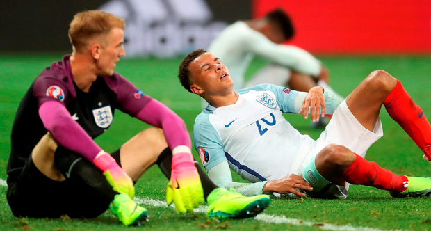 As for England, well, it really is remarkable how these things keep playing out. Photo: Owen Humphreys/PA Wire