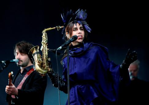 PJ Harvey has remained an uncompromising artist through the years.