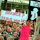 FALSE PROPHETS: 'No' campaigners in the referendum 20 years argued that family life would be destroyed by divorce as men walked out on their wives. This simply did not happen. Photo: RollingNews.ie