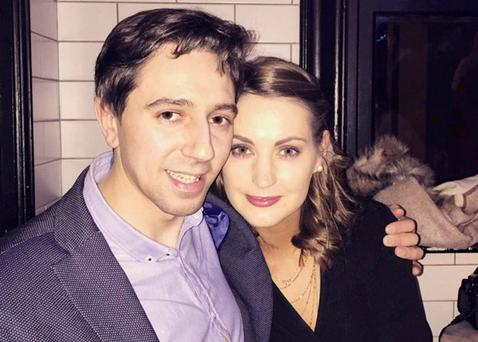 ENGAGED: Simon Harris and Caoimhe Wade
