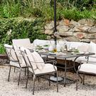 Dress up your outdoor spaces for summer – Monaco stacking chairs and table from neptune.com