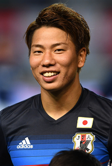Takuma Asano has signed for Arsenal(Photo by Masterpress/Getty Images)