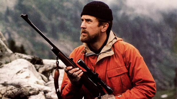 Robert de Niro in Michael Cimino's The Deer Hunter (1978).