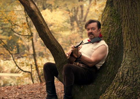 David Brent sings 'Lady Gypsy'. Photo: YouTube