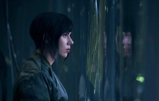 Scarlett Johansson in Ghost in the Shell. Photo: Paramount
