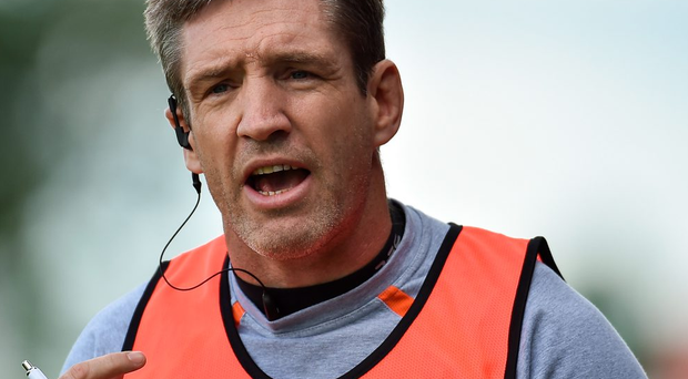 Armagh manager Kieran McGeeney during the GAA Football All-Ireland Senior Championship Round 1A Refixture at O'Moore Park. Photo: Sportsfile