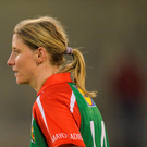 Mayo's Cora Staunton (stock photo) fittingly opened the scoring with a free. Photo: Sportsfile