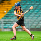 Ann Dalton of Kilkenny (stock photo) set the tone of the Kilkenny v Tipperary game. Photo: Sportsfile