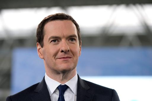 UK Chancellor George Osborne. Photo: GETTY