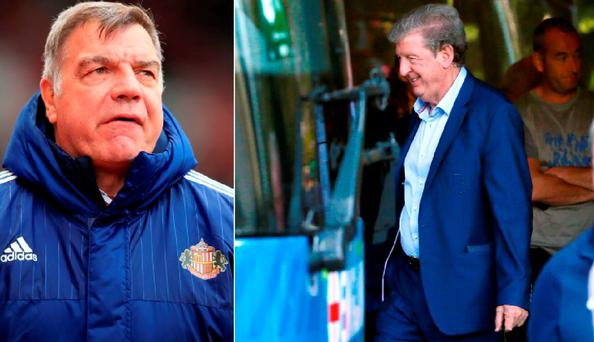 Sam Allardyce is in contention to replace Roy Hodgson