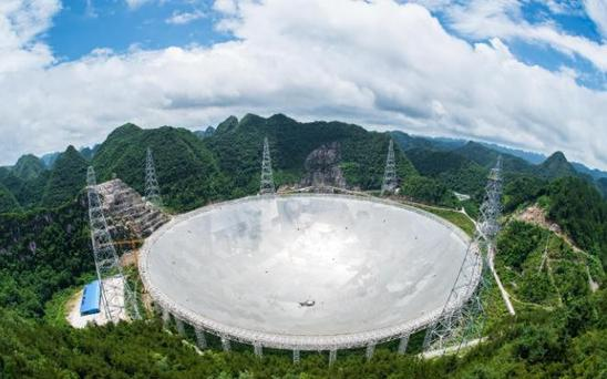 The world's biggest telescope Credit: XINHUA