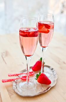 Wimbledon season is the perfect time to enjoy champagne and fresh strawberries.