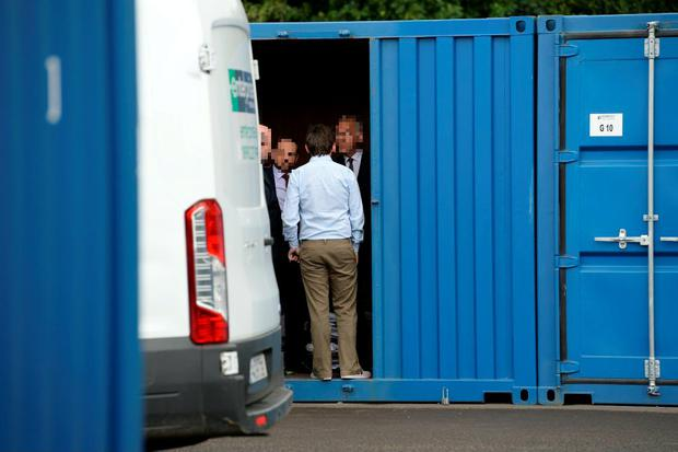 David Hall, interim CEO, was given permission by High Court to inspect and remove any documents or material relating to Console from Unit G9, Remedy Self Storage, Tougher Business Park, Naas, Co Kildare. Photo: Sunday World