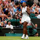 Serena Williams threatened to sue a referee over slippery playing conditions. Photo: Reuters/Andrew Couldridge