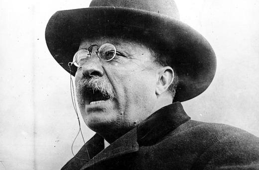 Teddy Roosevelt: 'Speak softly and carry a big stick'