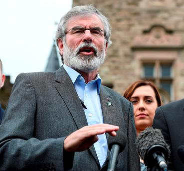 Sinn Féin leader Gerry Adams denied the claims. Photo by Charles McQuillan/Getty Images