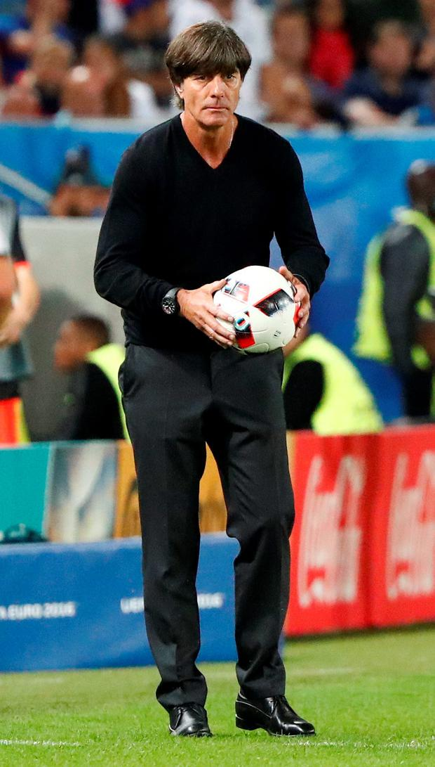 Joachim Low Photo: REUTERS/Christian Hartmann