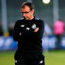 Pat Fenlon's reign as Shamrock Rovers manager came to an end on Sunday Photo: David Maher/Sportsfile